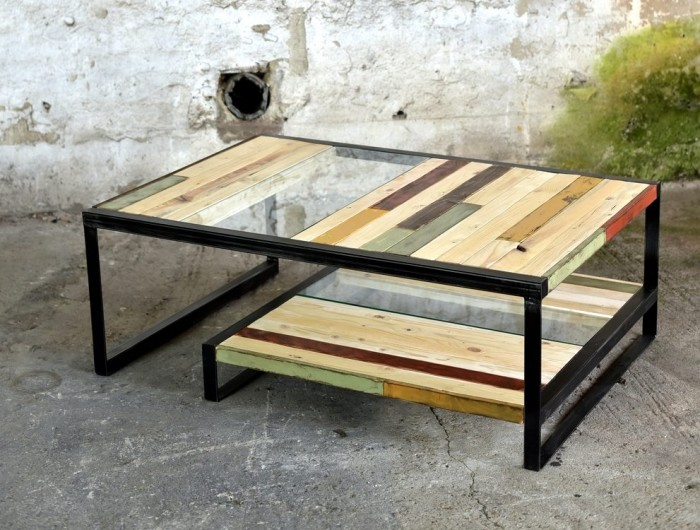Cute Wooden Pallet Coffee Table Furniture Projects