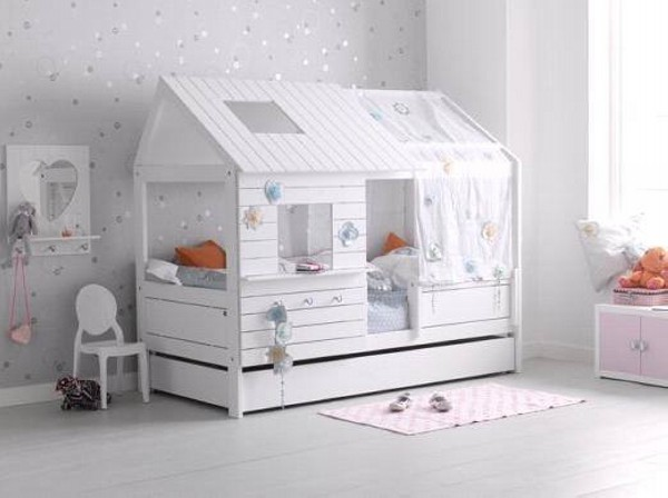 Kids Bed Houses Out Of Pallets Wood Pallet Furniture Projects