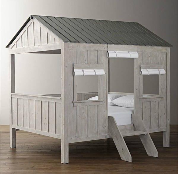 Kids Bed Houses By Wooden Pallets