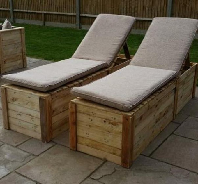 Pallets Made Outdoor Furniture | Pallet Furniture Projects.