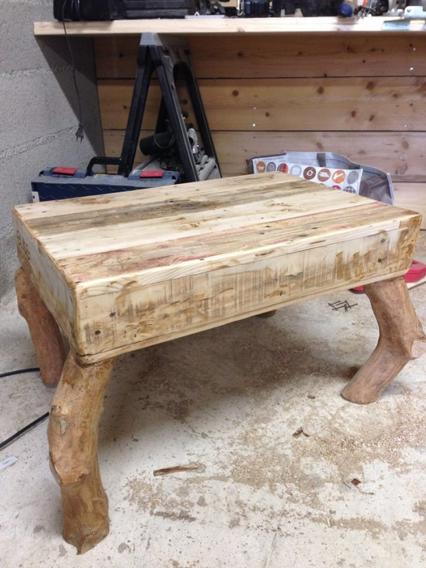 Pallet Wooden Mini Coffee Table Pallet Furniture Projects