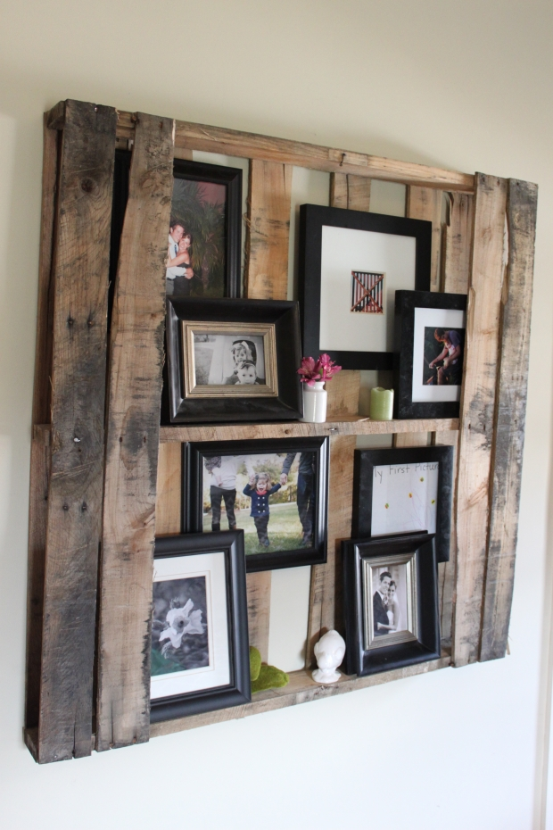 Ideas For Pallet Shelves Pallet Furniture Projects