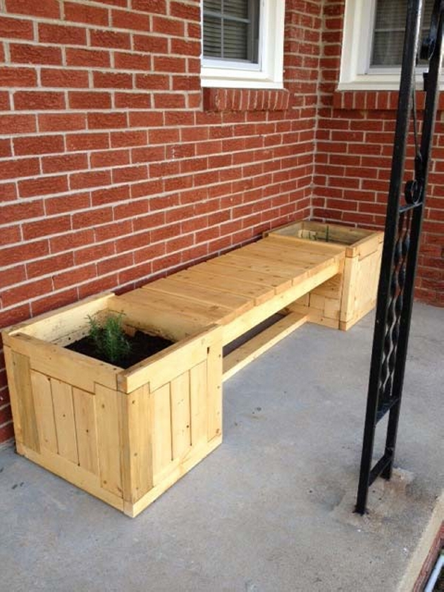 Pallet Garden Bench Ideas Pallet Furniture Projects