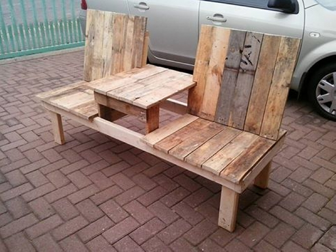 Pallet Wooden Garden Bench Pallet Furniture Projects
