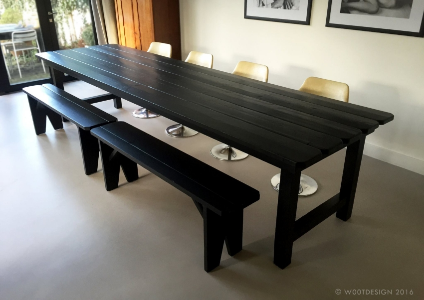 pallet made big dinning table buy pallet furniture