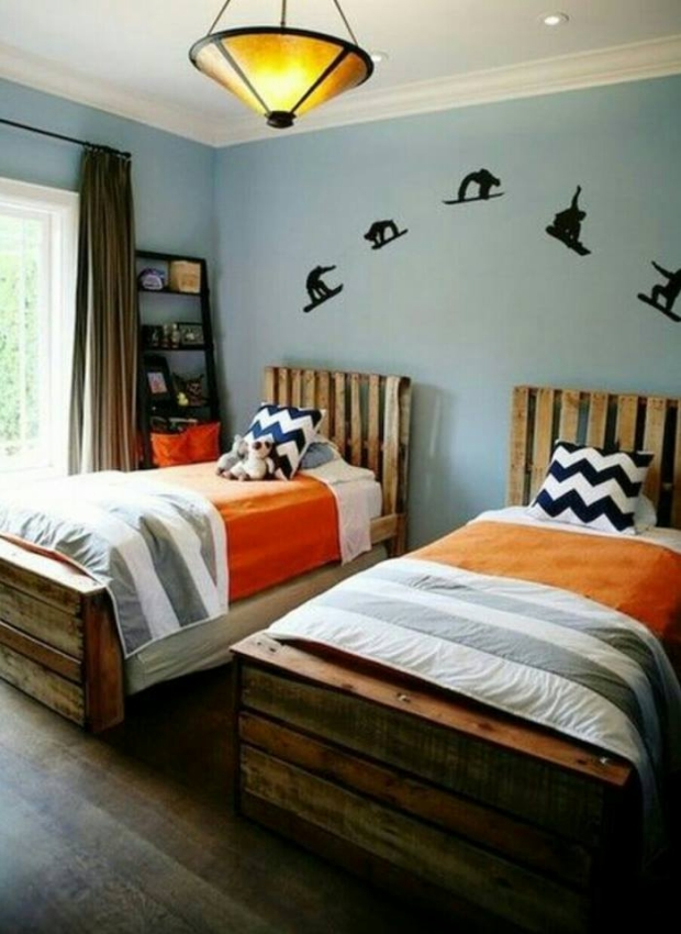 wood pallet twin bed images galleries with a bite. Black Bedroom Furniture Sets. Home Design Ideas