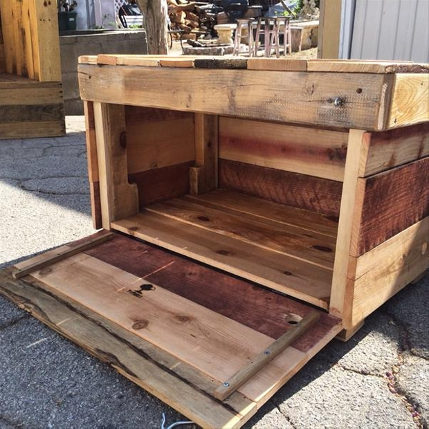 DIY Ideas for Pallet Chest Storage Boxes