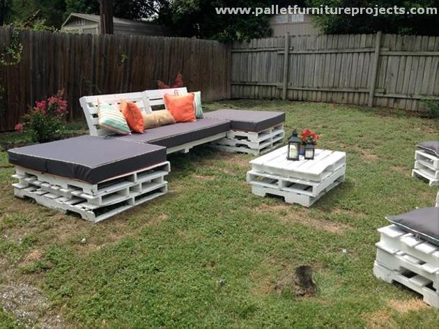 Pallet Outdoor Furniture Sets
