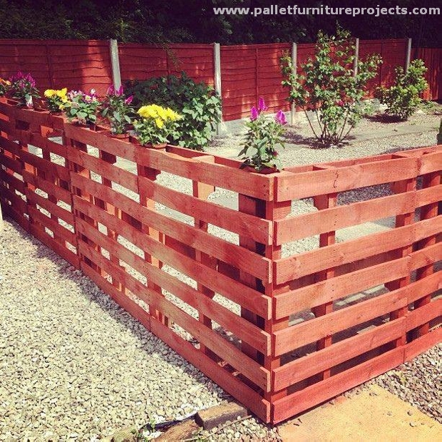 Ideas For Pallet Fences Pallet Furniture Projects