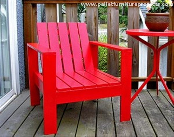 Ideas for Wood Pallet Lounge Chairs