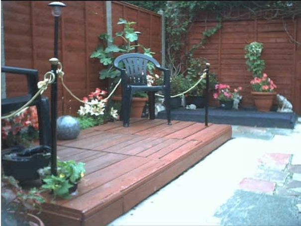 Wood pallet deck plans pallet furniture projects for Decking made from pallets
