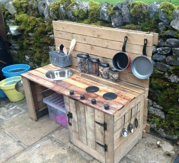 Kitchen Set Pallet: Kids Projects With Wood Pallets