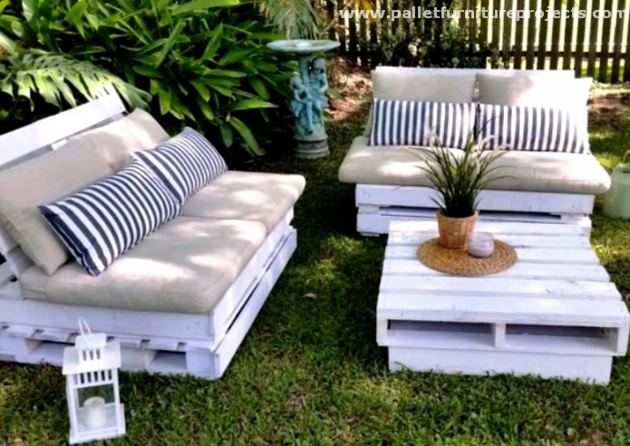 Pallet Terrace Lounge Ideas Furniture Projects