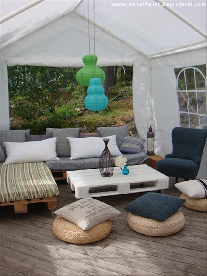 Pallet terrace lounge ideas pallet furniture projects for Terrace lounge