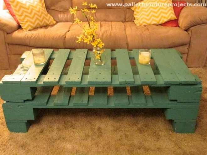 Upcycled pallet tables furniture projects