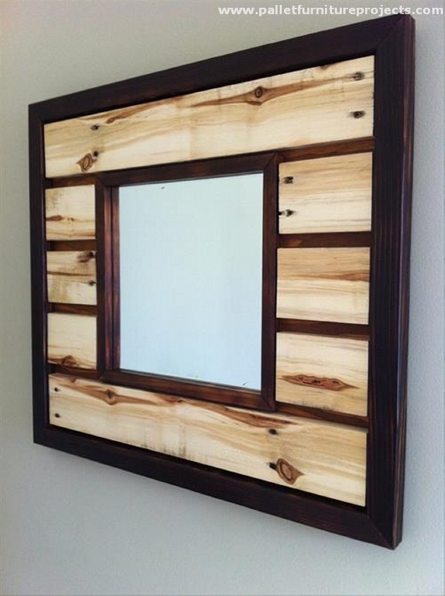 Pallet Vanity Mirror Ideas Furniture Projects