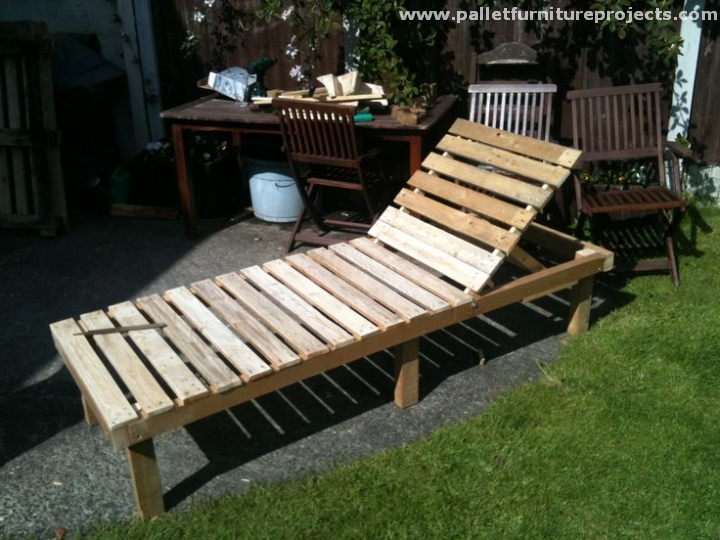 pallet sun lounger ideas pallet furniture projects. Black Bedroom Furniture Sets. Home Design Ideas