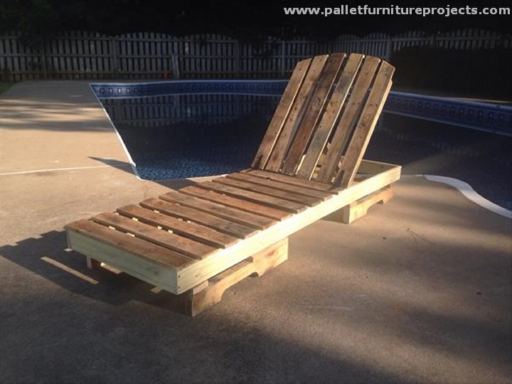 Pallet Sun Lounger Ideas Furniture Projects