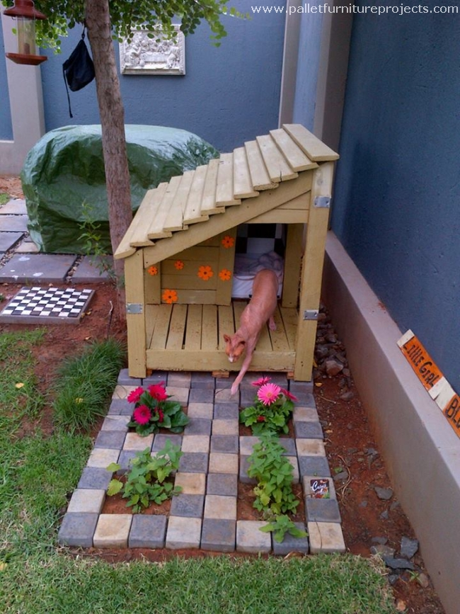 Make Your Own Outside Cat House