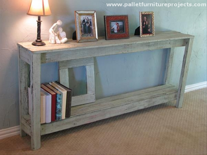 Pallet Foyer Table : Pallet hallway table ideas furniture projects