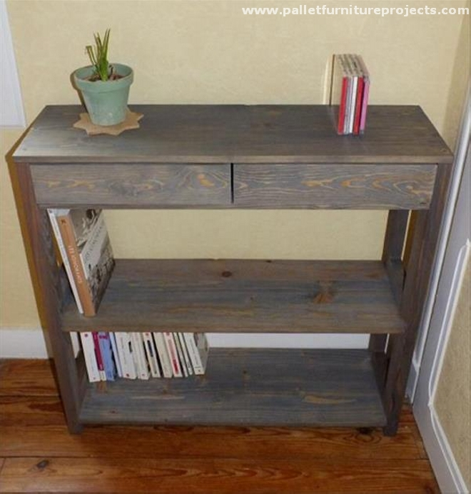 Foyer Table From Pallets : Pallet hallway table ideas furniture projects