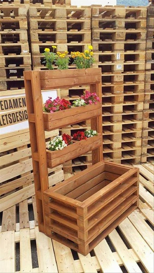 Pallet Planter Ideas Furniture Projects