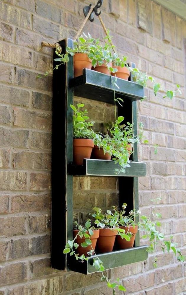 Pallet Planter Ideas | Pallet Furniture Projects.