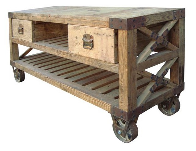 pallet moving table