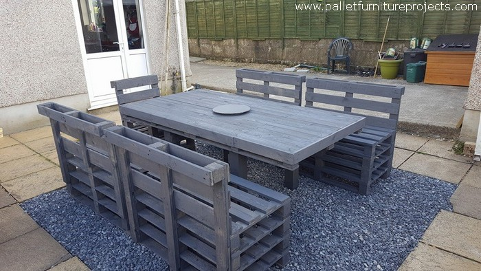 Sunshine Pallet Patio Furniture Pallet Furniture Projects