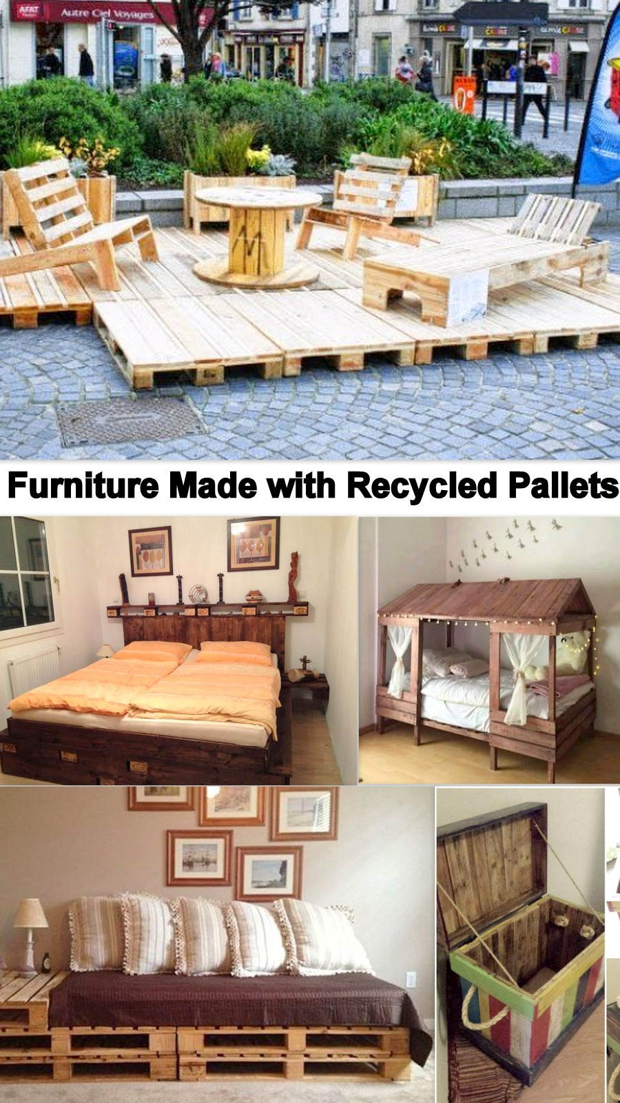 Furniture Made with Recycled Pallets