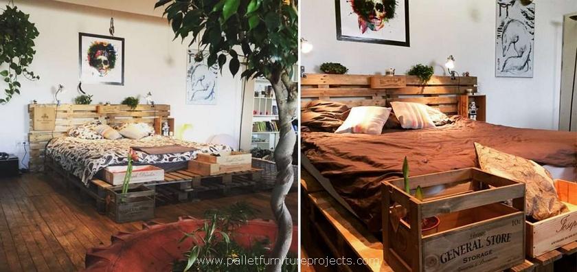 big pallet bed