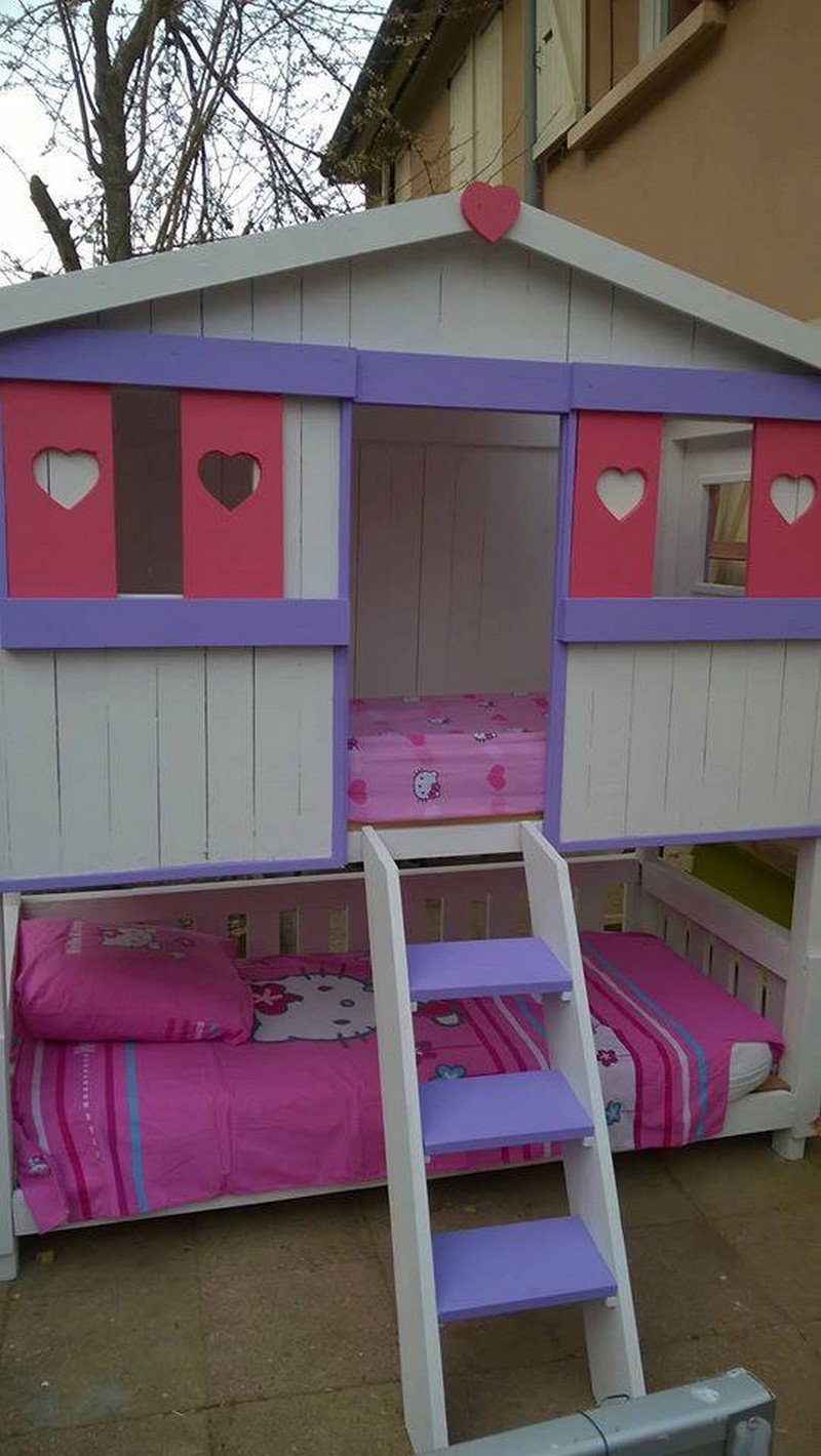 ... out of pallets beds. pallet toddler bunk bed. Pallet Coffee Table With