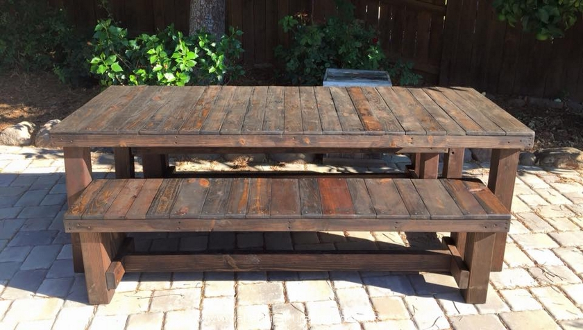 pallet farm patio furniture