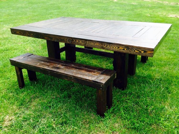 pallet patio farm furniture