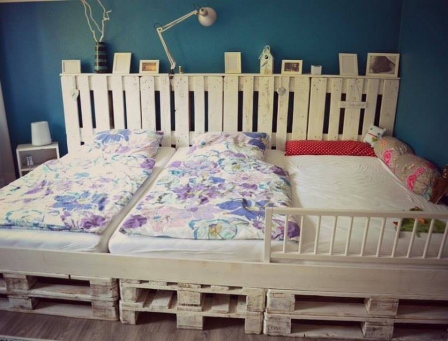 pallet wood bed project