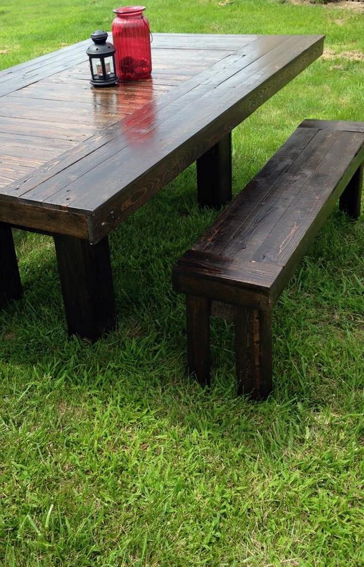 patio pallet wood furniture