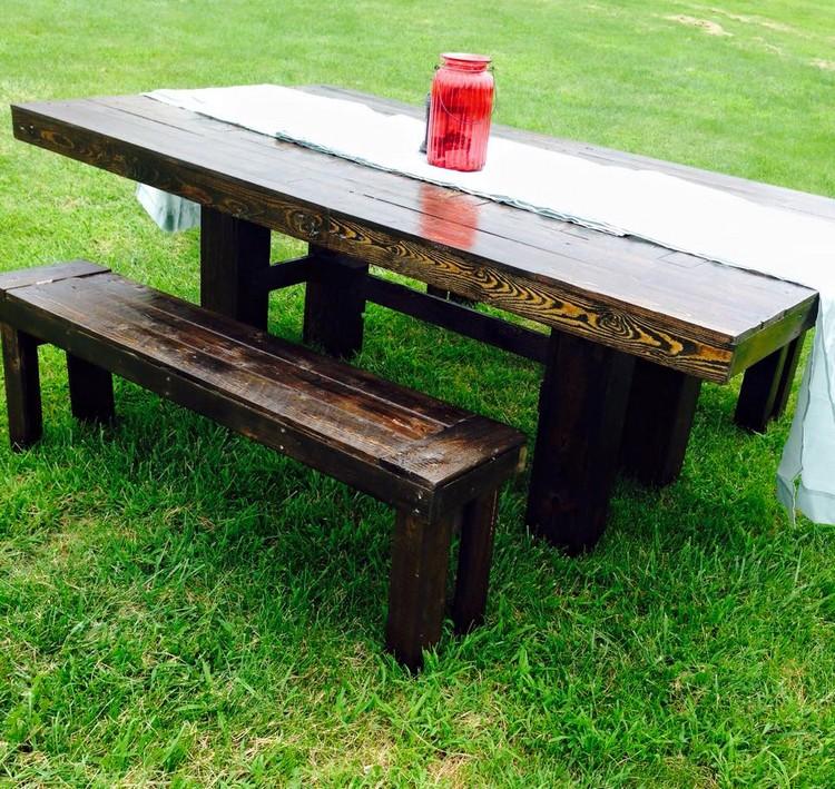 wooden pallet farm furniture