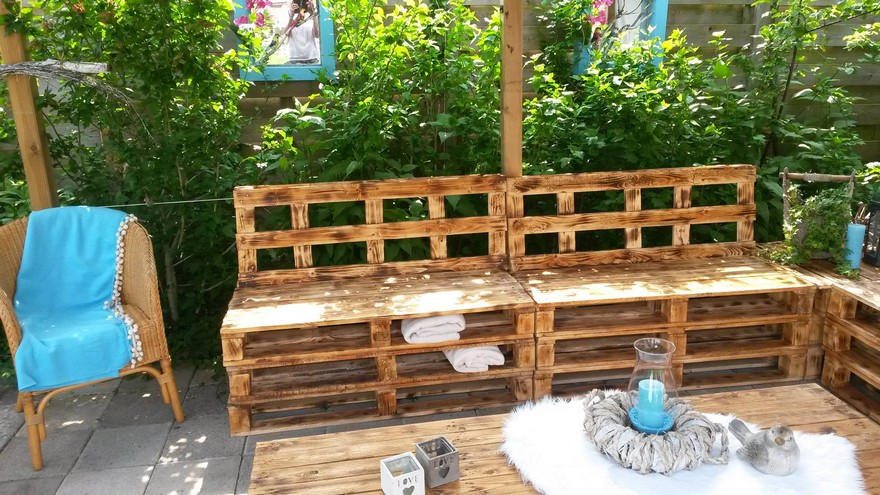 diy wood pallet patio furniture set pallet furniture projects