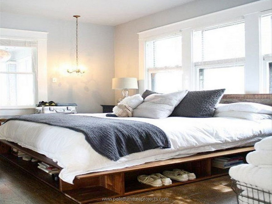 pallet giant bed