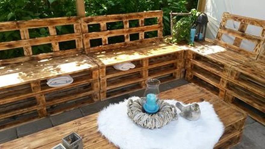 diy pallet outdoor furniture pallet patio furniture - Pallet Patio Furniture
