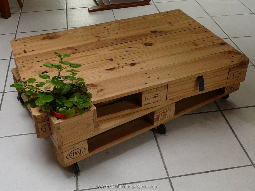 wooden pallet table plan