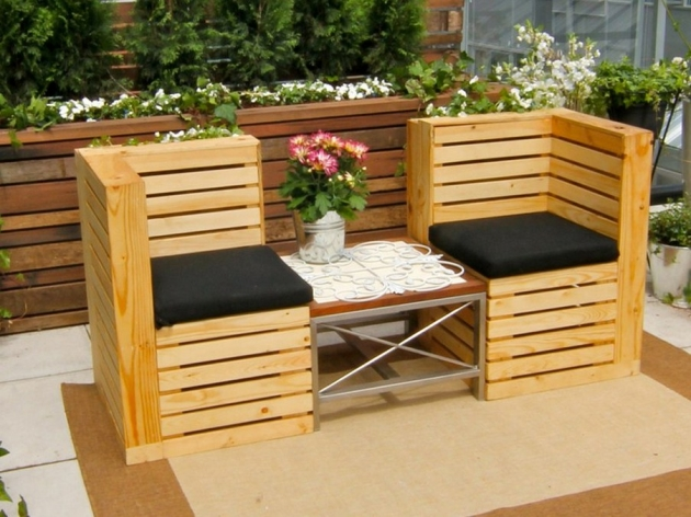 Pallet Garden Bench Ideas | Pallet Furniture Projects.