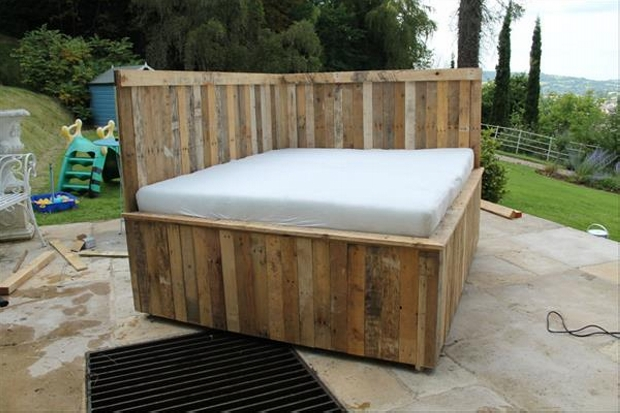 Pallet Daybed Plans | Pallet Furniture Projects