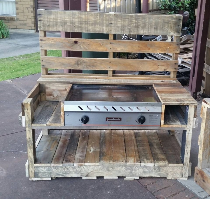 Pallet Kitchen Chairs: Pallet Wood Kids Play Kitchens