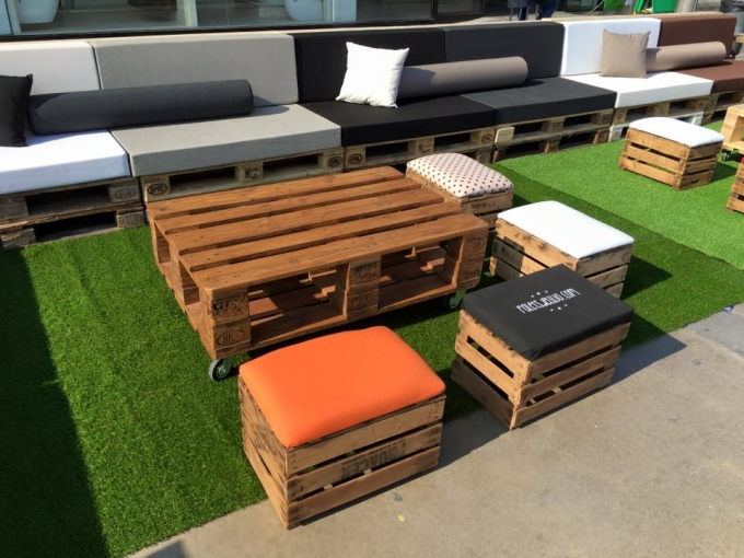 furniture with pallets in leroy merlin spain pallet