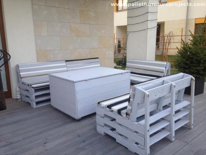 Pallet Terrace Lounge Ideas Pallet Furniture Projects