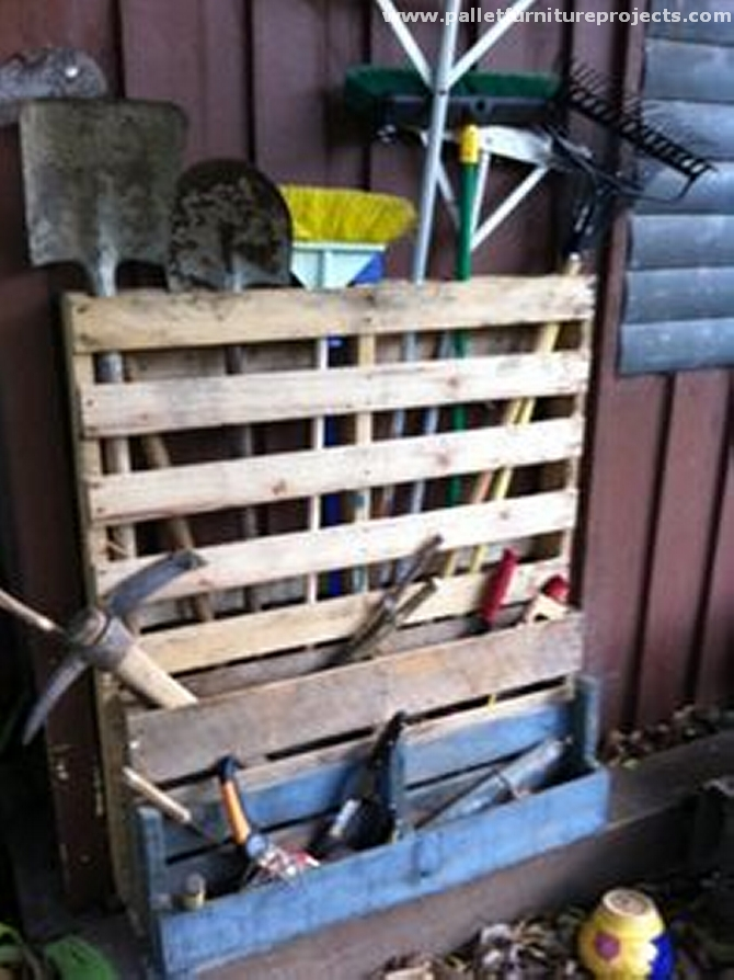 Pallet Tools Rack Ideas Pallet Furniture Projects