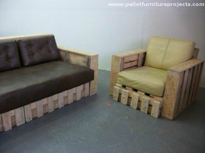 Raw Pallet Sofa Ideas Pallet Furniture Projects