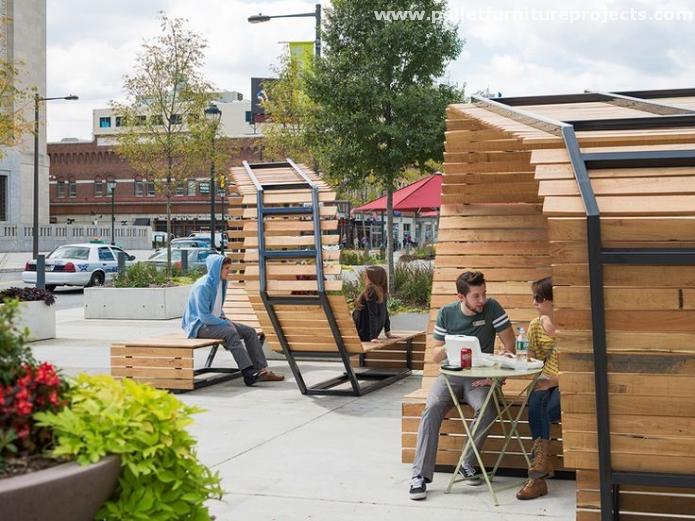 Pallet Street Public Furniture Ideas Pallet Furniture