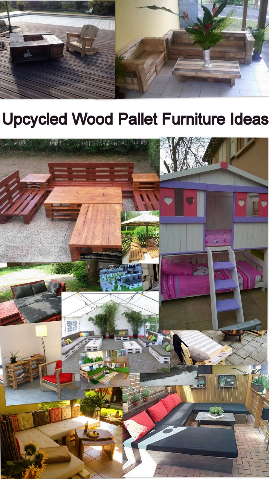 Upcycled Wood Pallet Furniture Ideas Pallet Furniture Projects
